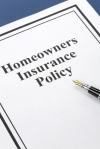 Document of Homeowners Insurance Policy for background