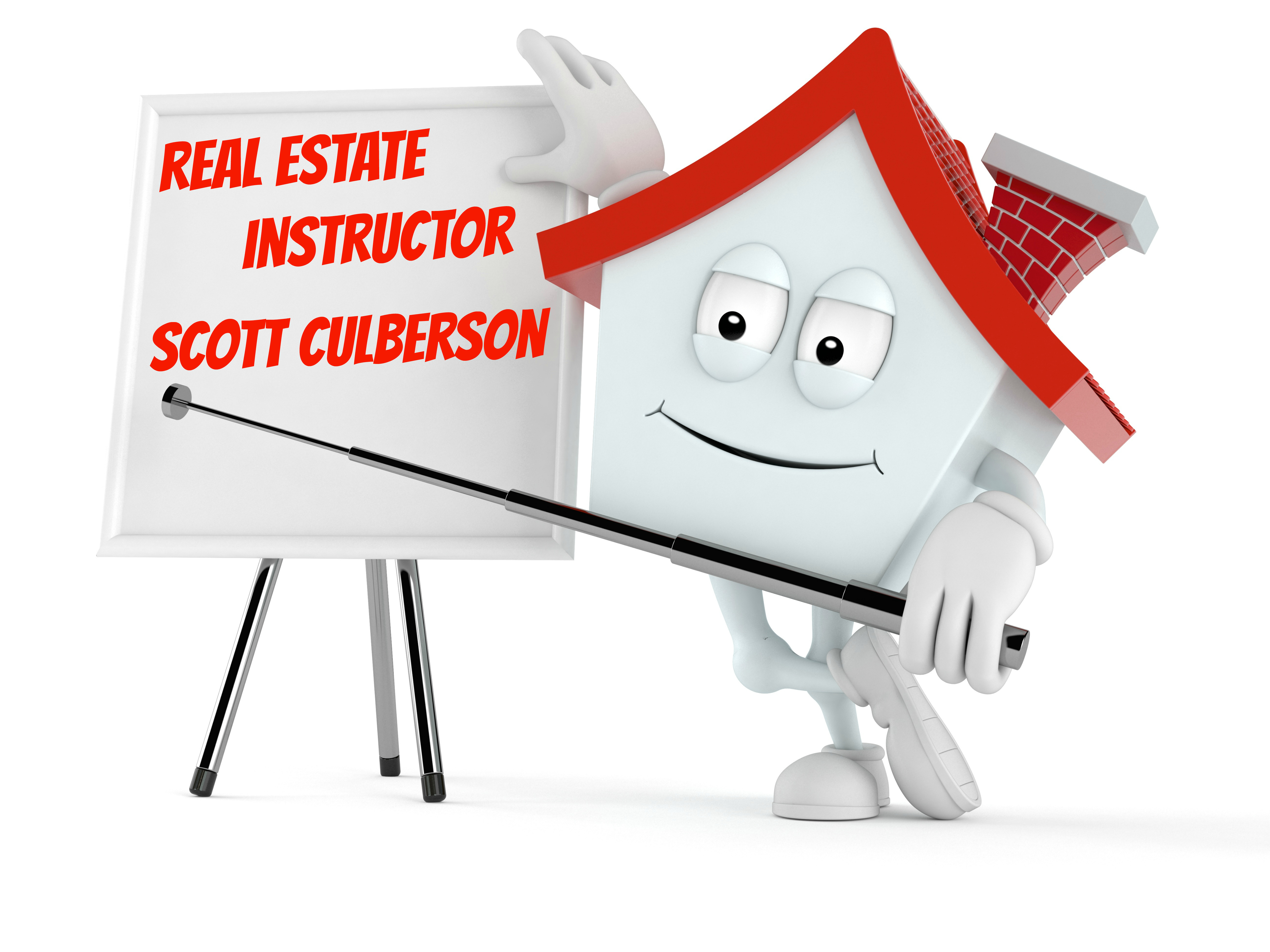 Real Estate Instructor Scott Culberson.com